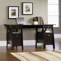 Jamocha Executive Trestle Desk - Stockbridge