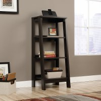 Jamocha 3-Shelf Bookcase - Trestle