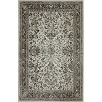 5 x 8 Medium Taupe Area Rug - Euphoria