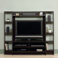 Cinnamon Cherry Brown Entertainment Center - Beginnings