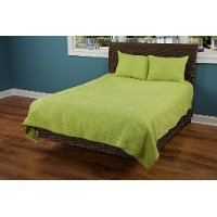 Lime King Quilt - Moroccan Fling Bedding Collection