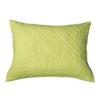 Lime Quilted Standard Sham - Moroccan Fling Bedding Collection