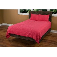 Coral Twin Quilt - Moroccan Fling Bedding Collection
