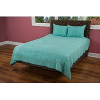 Aqua Twin Quilt - Moroccan Fling Bedding Collection