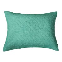 Aqua Quilted Standard Sham - Moroccan Fling Bedding Collection