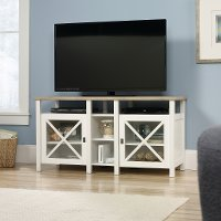 Soft White TV Stand - Cottage Road