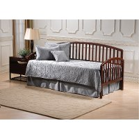 1593dblht cherry daybed with popup trundle carolina