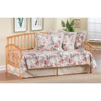 1108dblht pine daybed with popup trundle carolina - Daybeds With Pop Up Trundle