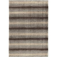 5 x 8 Medium Skyline Pewter Area Rug - Metropolitan