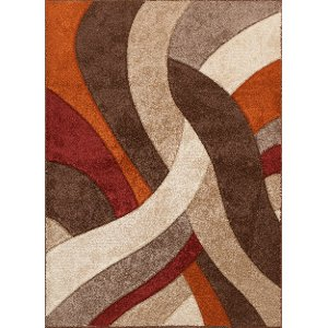 Red Brown Rug Home Decor