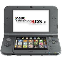 3DSXL-NEWBLACK New Nintendo 3DS XL - Black