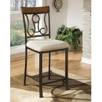 D314SDCB Hopstand Brown Counter Stool (Set of 4) - Hopstand