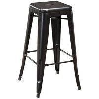 Gray Bar Stool (Set of 4) - Pinnadel