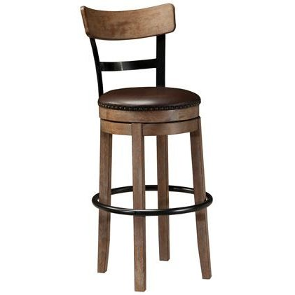 Compare Garrison Dark Brown Swivel Bar Stool Prices And
