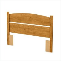 3132091 Country Pine Full Panel Headboard (54 Inch)- Libra