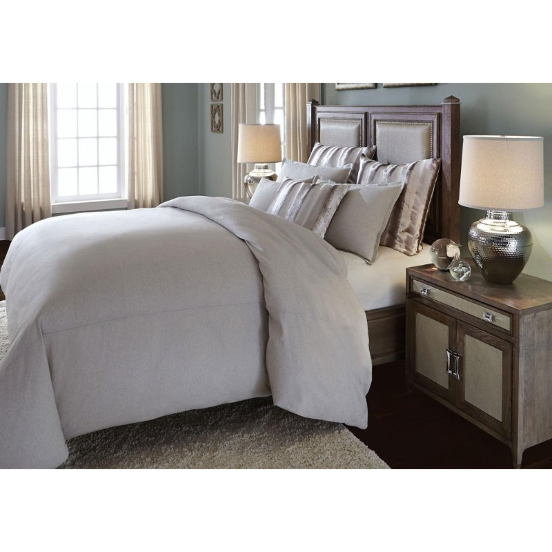 Ivory King Bedding Collection