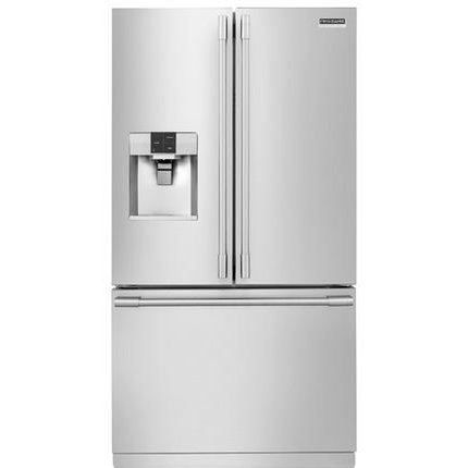 FPBS2777RF Frigidaire French Door Refrigerator with Built-in Water and Ice Dispenser - 36 Inch Stainless Steel