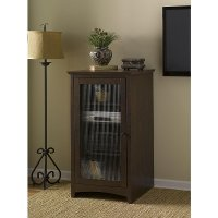 Cherry Audio Cabinet Bookcase - Buena Vista