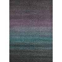 8 x 11 Large Purple and Gray Area Rug - Ashbury