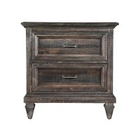 Calistoga Charcoal Nightstand