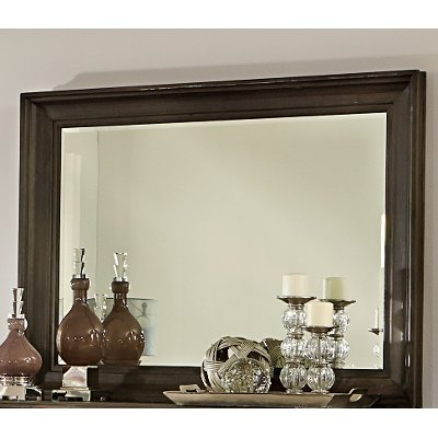 Calistoga Charcoal Mirror