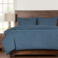 Denim Blue Twin Bedding Collection