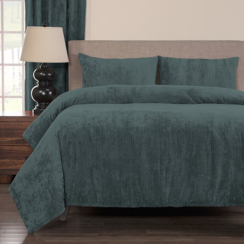 Draper Blue King Bedding Collection