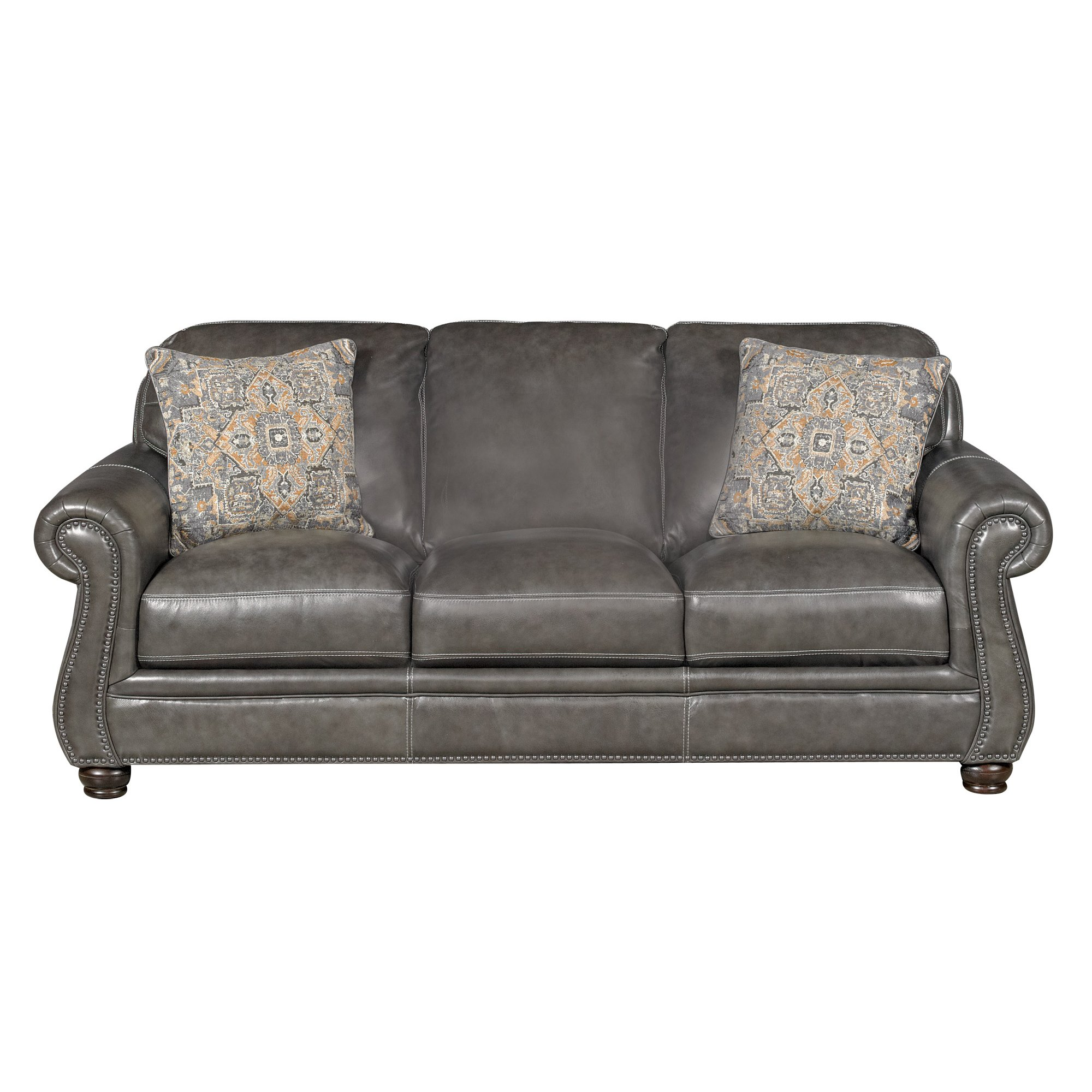 Leather sofas for living room for Traditional leather sofas furniture