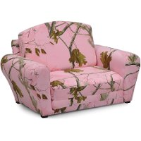 Pink Camouflage Sleepover Sofa - Real Tree