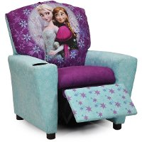 Disney's Frozen - Kid's Recliner with cup holder