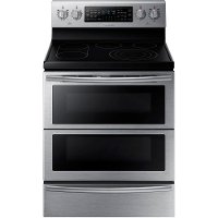 NE59J7850WS Samsung Double Oven Electric Range with Flex Duo - 5.9 cu. ft. Stainless Steel