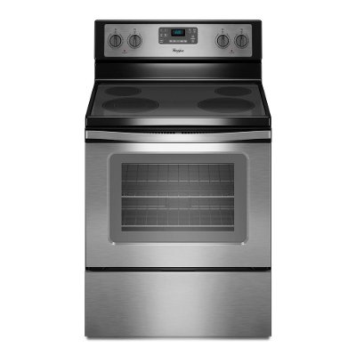 WFE515S0ES Whirlpool Electric Range - 5.3 cu. ft. Stainless Steel