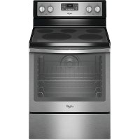WFE540H0ES Whirlpool 6.4 cu. ft. Electric Range - Stainless Steel