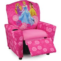 Timeless Disney Elegance Kid's Recliner - Princesses