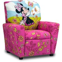Disney's Cuddly Cuties Kid's Recliner - Minnie Mouse
