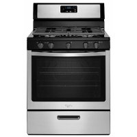 WFG505M0BS Whirlpool  5.1 cu. ft. Gas Range - Stainless Steel and Black