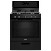 WFG505M0BB Whirlpool Gas Range - 5.1 cu. ft. Black