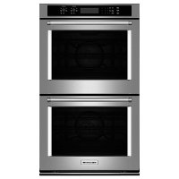 KODE507ESS KitchenAid 27 Inch Double Wall Oven - 8.6 cu. ft. Stainless Steel