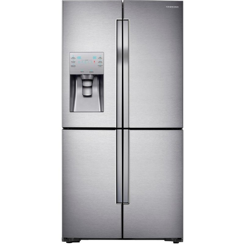 RF23J9011SR Samsung French Door Refrigerator   36 Inch Stainless Steel  Counter Depth