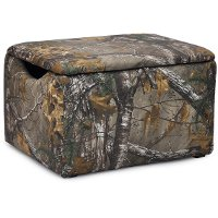 Woodsy Camouflage Storage Box - Real Tree