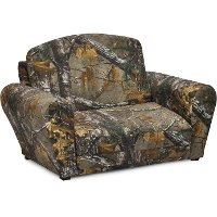 Woodsy Camouflage Sleepover Sofa - Real Tree
