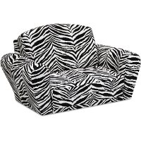 Designer Black/White Sleepover Sofa