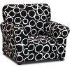 Freehand Black/White Club Chair