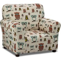 Hooty Village Natural Club Chair