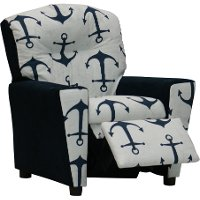 Anchors/Navy Kids Recliner - Mixy