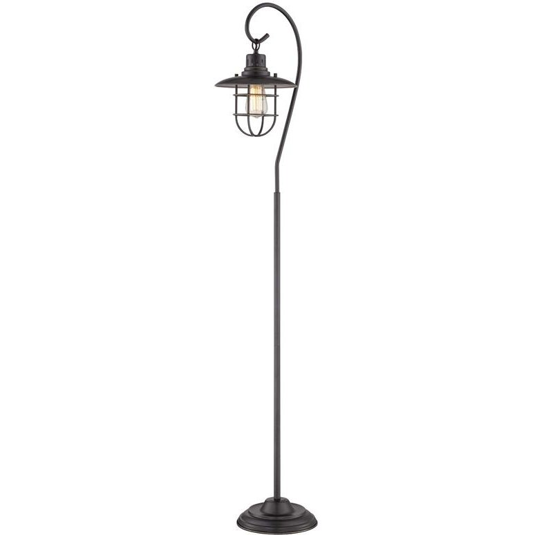 Lanterna II Dark Bronze Lantern Floor Lamp | RC Willey Furniture Store