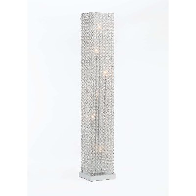 Chrome Pillar Floor Lamp - Chrome Pillar Floor Lamp RC Willey Furniture Store
