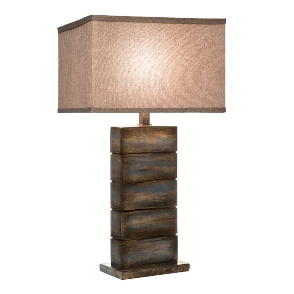 ... Seal Blue Table Lamp ...