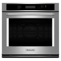 KOSE500ESS KitchenAid 30 Inch Single Wall Oven with Convection - 5.0 cu.ft. Stainless Steel