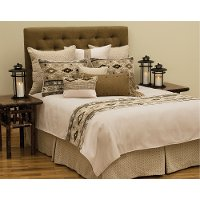 WD23230-K/COVERLET Earthy Tone Reversible King Coverlet - Mountain Storm